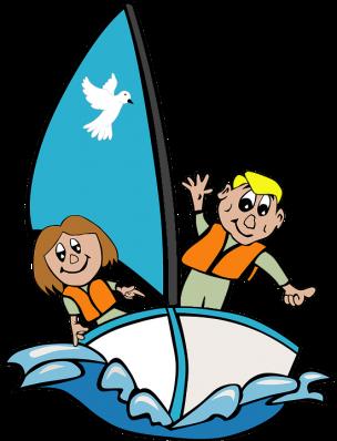 Friends Sailin' Image ~ Auction