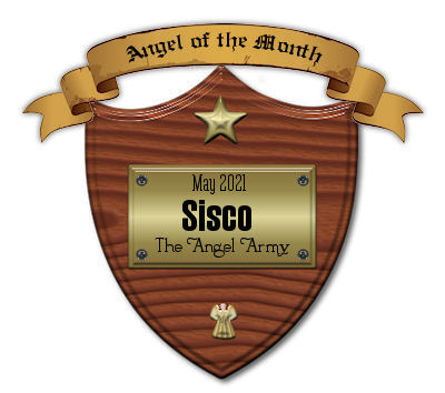 Award from the Angel Army.