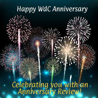Celebrating you with an Anniversary Review.