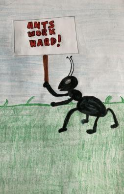 The story of how ants can teach us life lessons taught by the character Mr. Ant. (Part 1)