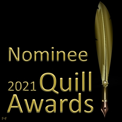 Signature for those who are nominated for a Quill Award in 2021
