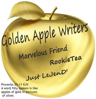 An image for the Golden Apple Writers team for the 21 WDC Birthday Bash Blog Relay