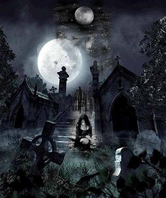 Prompt 1 Gothic Cemetary