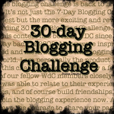 WDC's Longest Running Blog Competition - See you in November for another Official Round!